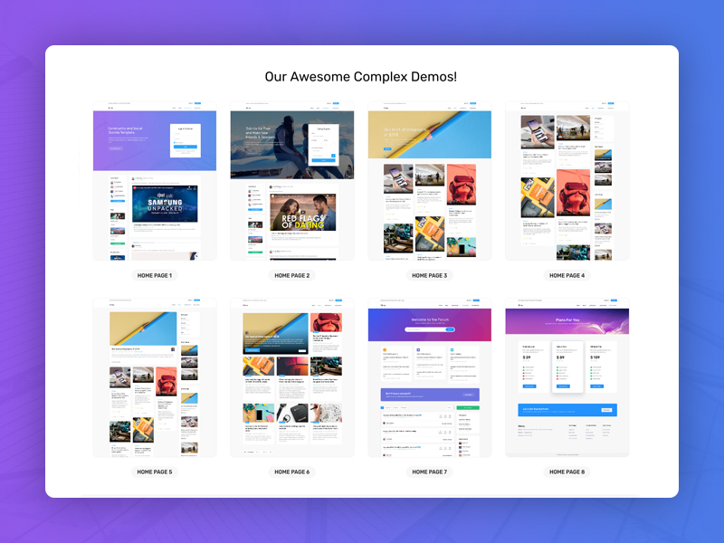 Massive multi-purpose Joomla template